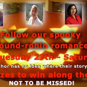 New Round Robin Romance for Halloween