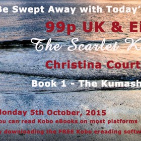 Kobo Daily Deal – The Scarlet Kimono by Christina Courtenay