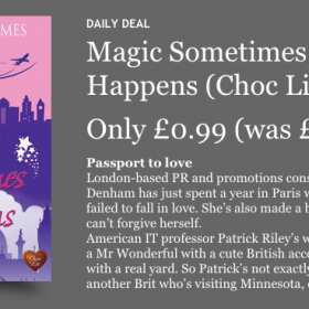 Today's Kobo Daily Deal – Magic Sometimes Happens