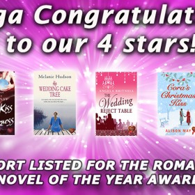 Four Finalist for the Romantic Novel of the Year Award (RoNAs)