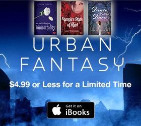 Urban Fantasy Sale on iBooks CA & US