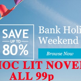 KOBO UK BANK HOLIDAY WEEKEND SALE