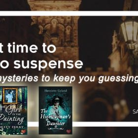 Sale! Romantic mysteries to keep you guessing ….