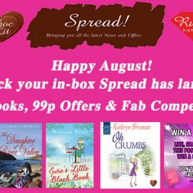 August Spread has landed – fab new books, offers and competitions!