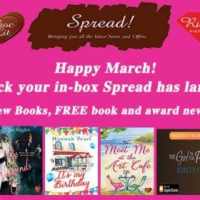 March Spread has landed in your in-box!