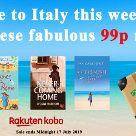 Ciao! Escape to Italy this weekend with Kobo UK