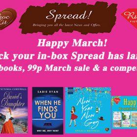 March Spread has landed!